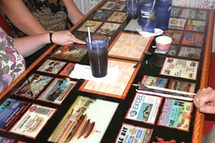 ABC Advertising Advertising On Tabletops - Restaurant table advertising